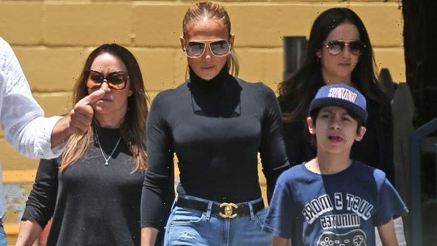 Jennifer Lopez Tours L.A. Private School With Son Max, 13, Amid Speculation She's Moving