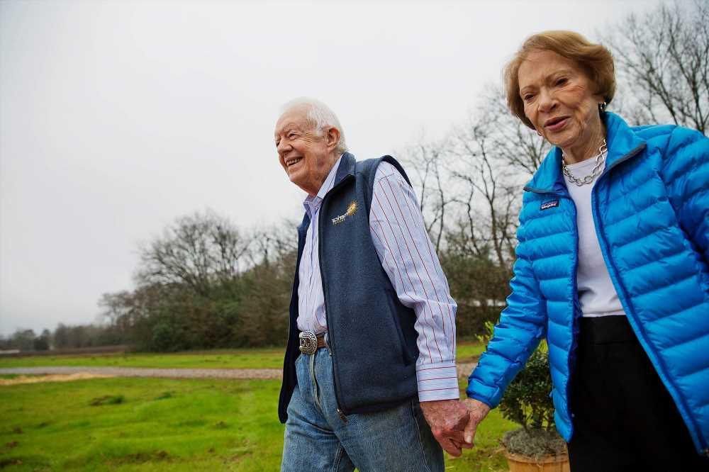 Jimmy, Rosalynn Carter celebrate 75 years of 'full partnership'