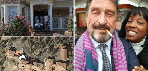 John McAfee was BROKE when he died in prison after $100M mansion spree