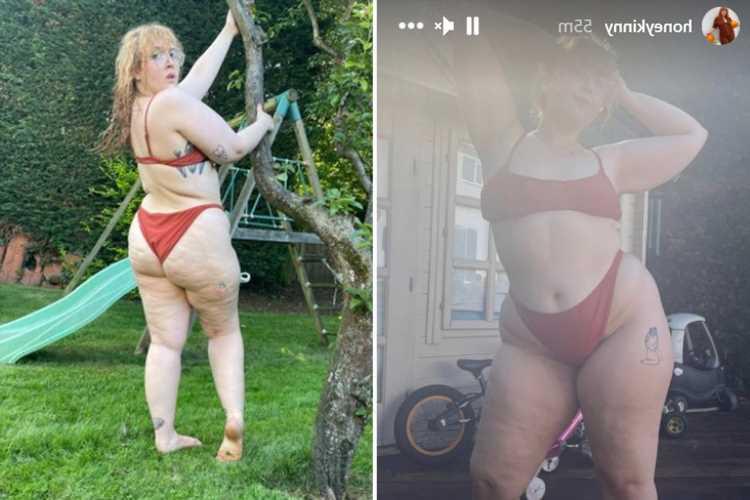 Jonathan Ross' daughter Honey poses in a bikini as she soaks up the sun in UK heatwave
