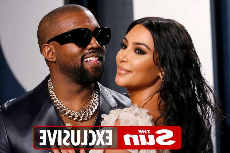 Kanye West breaks down in tears as he compares home with Kim Kardashian to a prison and accuses her of 'taking everything'