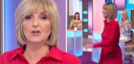 Kaye Adams walks off Loose Women leaving panel stunned 'I'll see you all later'