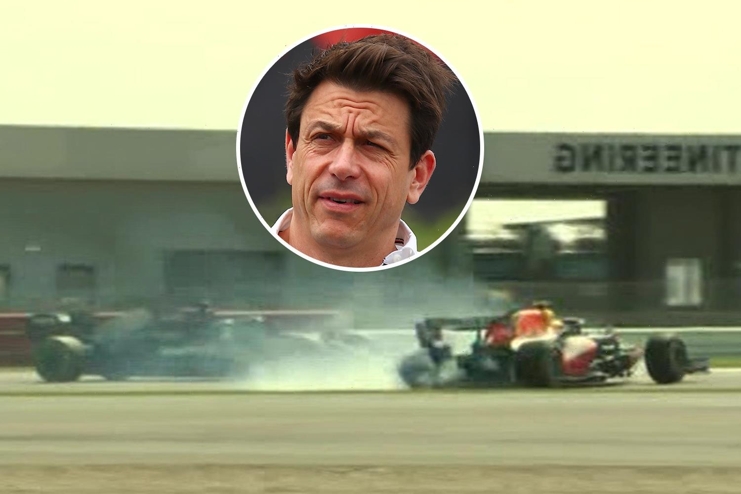 Lewis Hamilton ESCAPES further penalty in Verstappen crash row as Mercedes accuse Red Bull of 'tarnishing' star's name