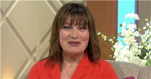Lorraine Kelly giggles as cheeky doctor says he feels 'large semi coming on'