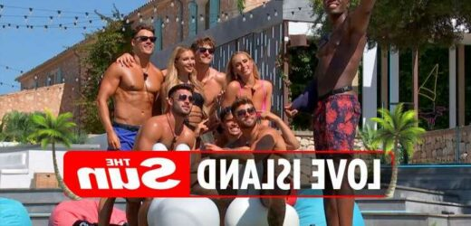 Love Island girls horrified to see bombshells Lucinda & Millie in the villa with the boys while they're at boozy brunch