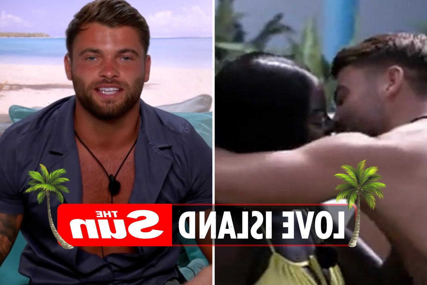Love Island's tell-tale clue Liberty FORGAVE Jake for snogging Kaz in challenge – did you spot it?