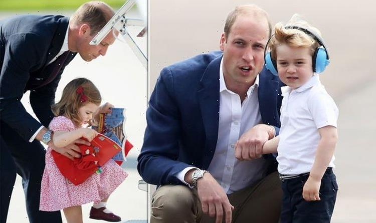 'Loving and caring man': Prince William pictures display parenting skills – 'a natural'