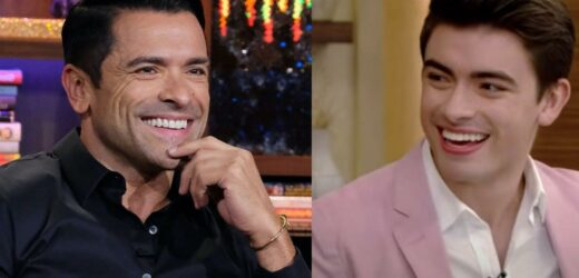 Mark Consuelos' Son Michael Looks Just Like Him in 'Riverdale' Set Pic
