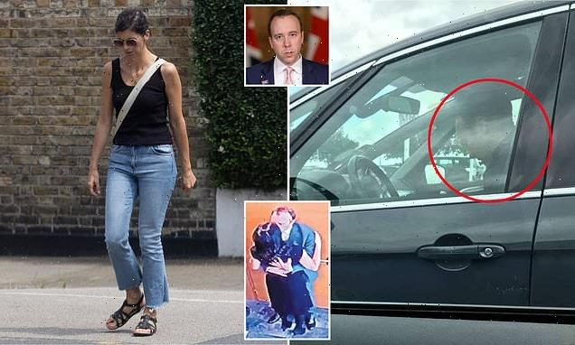 Matt Hancock breaks cover as he is spotted for first time since affair