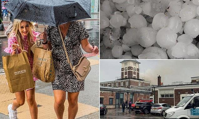 Met Office issues weather warnings for heavy rain and wind today