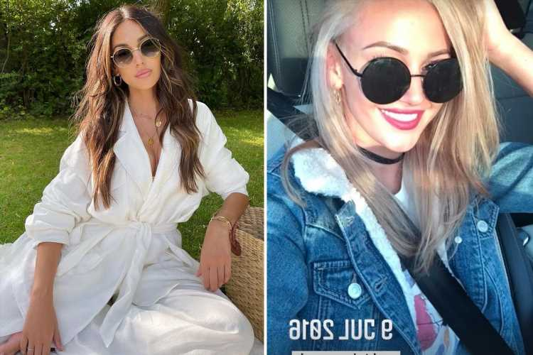 Michelle Keegan posts startling picture of her with blonde hair saying 'this happened' in throwback pic