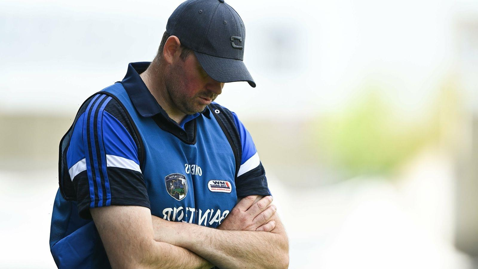 Mike Quirke steps down as Laois senior football manager after Leinster Championship defeat to Westmeath