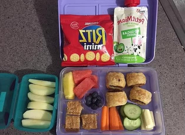 Mum fumes after school nurse calls her daughter, four, 'overweight' and blames her 'unhealthy' lunchbox