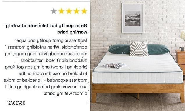 Mum's amusing review after son got 'kung fu kicked' by Kmart mattress