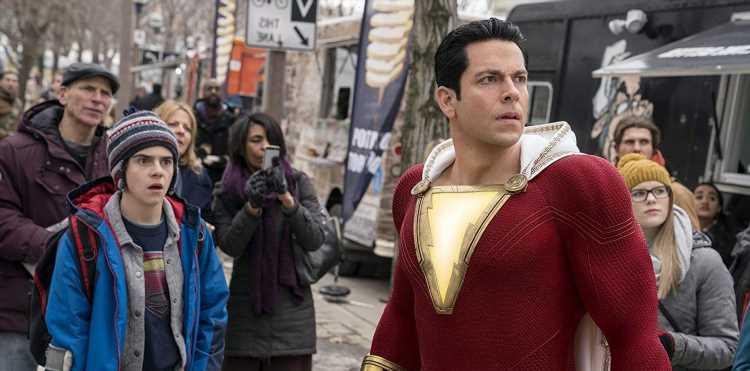 New 'Shazam! Fury of the Gods' Set Photo Shows Off Battle-Damaged Suit