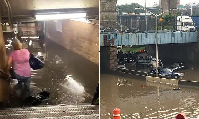 New Yorkers trapped in flash flood are rescued from Bronx expressway