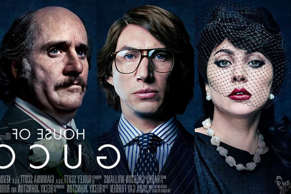 New film posters for House of Gucci show a shocking Jared Leto