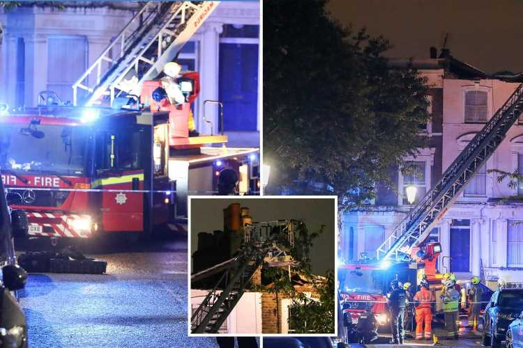 Notting Hill – Boy, 10, among 13 people rescued after roof COLLAPSES on multi million-pound street
