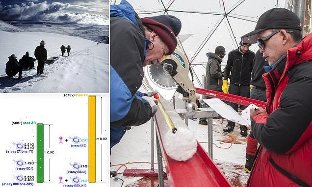 Novel viruses found in 15,000-year-old ice from a Tibetan glacier