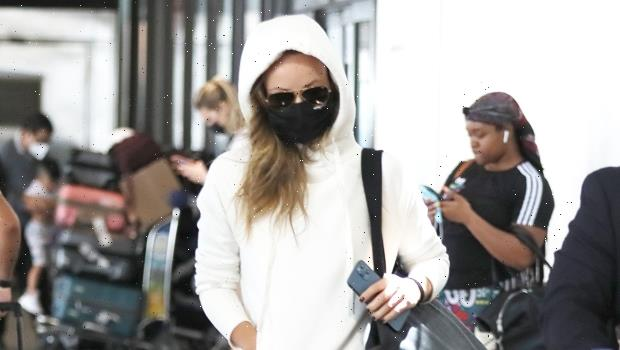 Olivia Wilde Returns To Los Angeles After Romantic Getaway With Harry Styles: 1st Photo