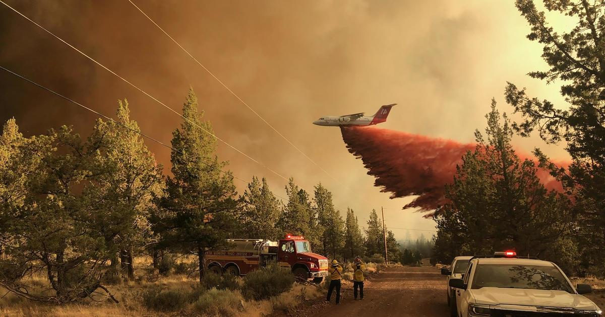 Oregon wildfire becomes biggest in the nation, burning over 200,000 acres