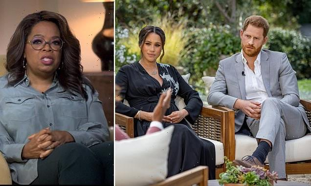 Prince Harry and Meghan Markle's chat with Oprah nominated for Emmy