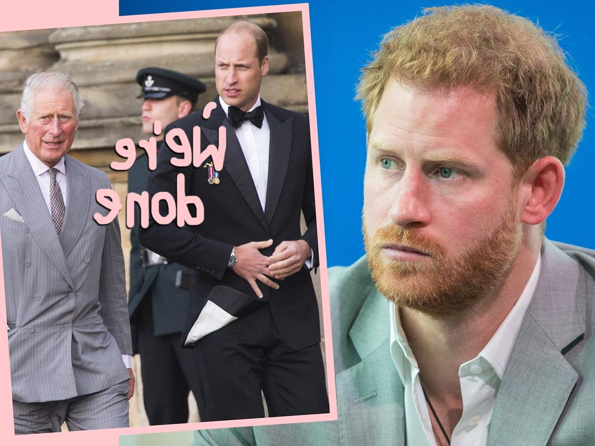 Prince Harry's Memoir Is 'Final Nail In The Coffin' For His Relationship With Charles & William, Say Royal Insiders