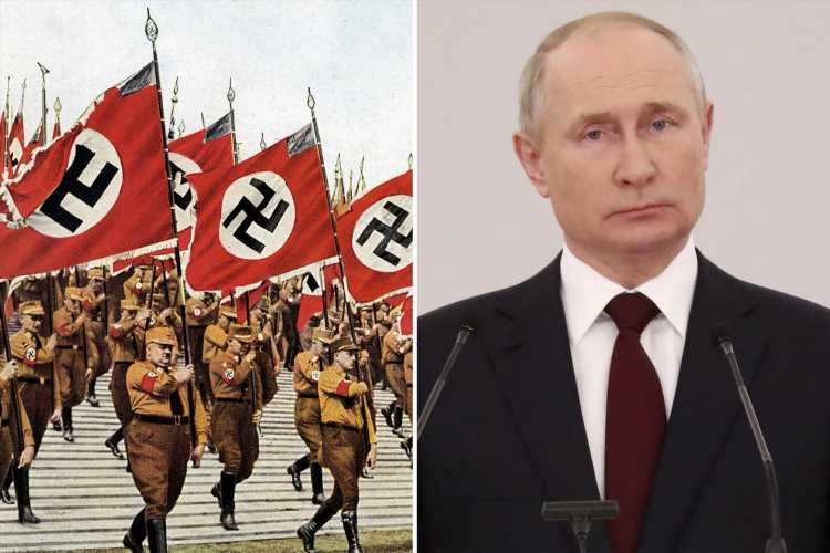 Putin makes it ILLEGAL to compare Soviets to the Nazis in bizarre new law