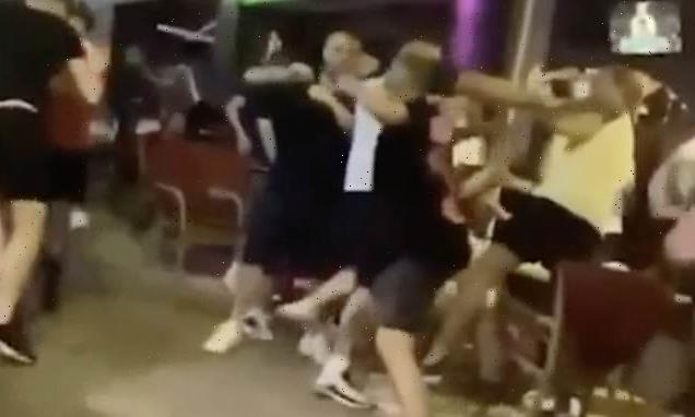 Scottish and English fans in Ibiza brawl after Euro2020 Denmark win