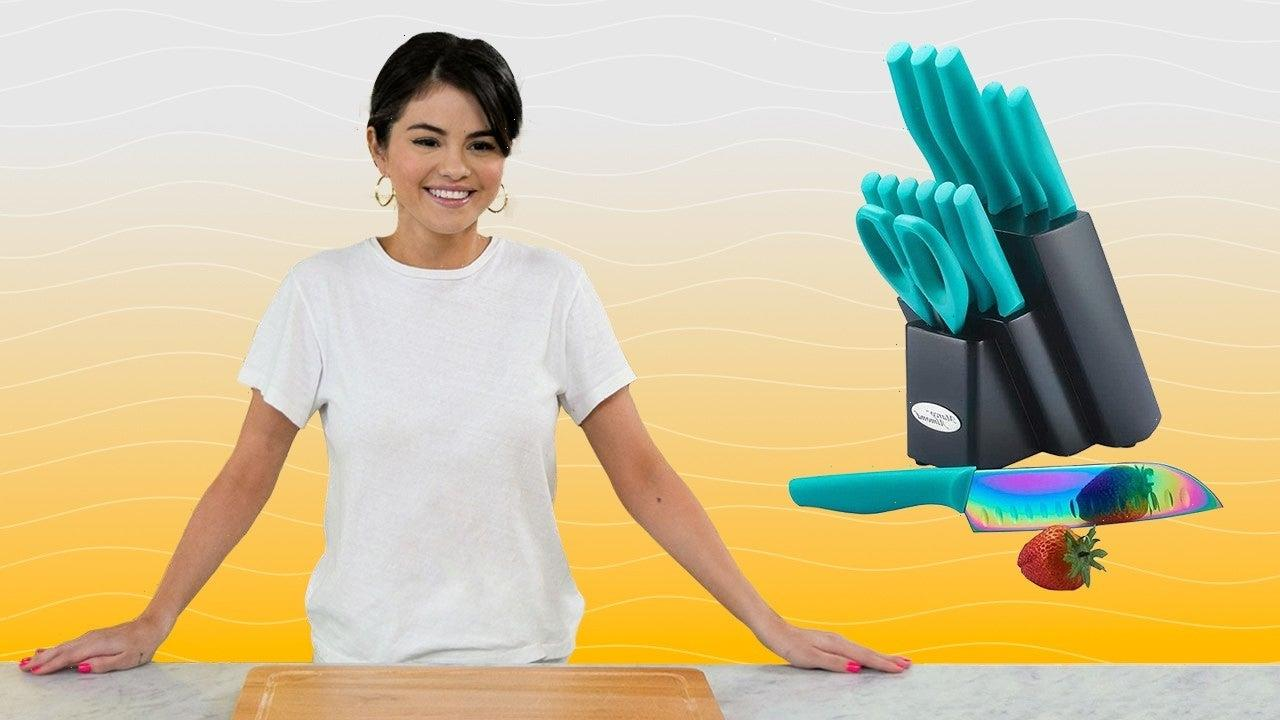 Selena Gomez's Rainbow Knives From 'Selena + Chef' on Amazon