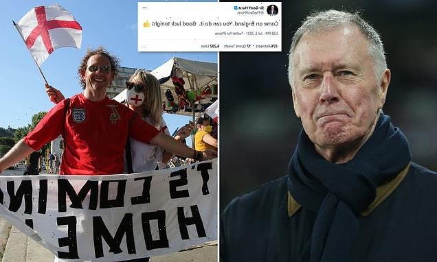Sir Geoff Hurst wishes Three Lions 'good luck'