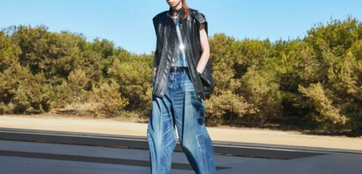 Skinny Jeans are Over as Hedi Slimane Pivots to Big Pants