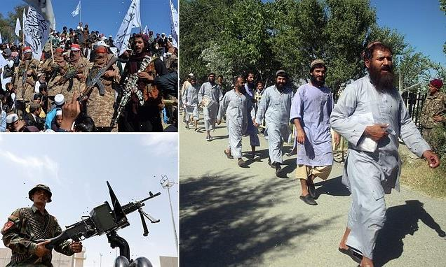 Taliban demand the release of SEVEN THOUSAND insurgent prisoners
