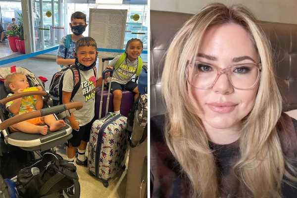 Teen Mom Kailyn Lowry & her four sons head to Dominican Republic for getaway in new photo after star sues Briana DeJesus