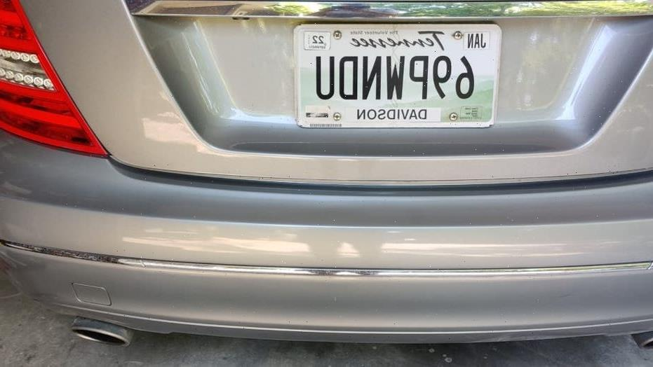 Tennessee woman sues after state officials deem vanity license plate 'offensive'