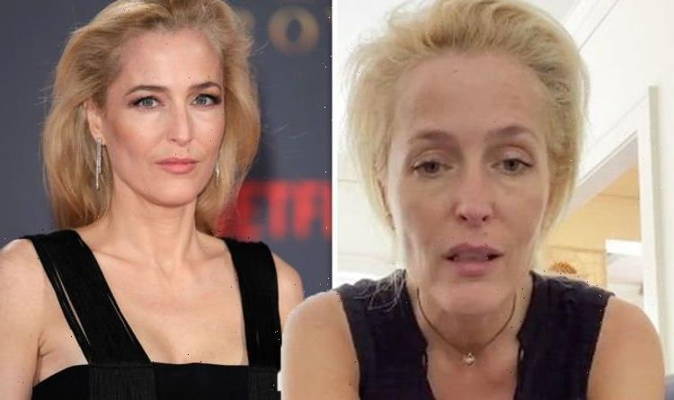 The Crown's Gillian Anderson ditches 'uncomfortable' bra and vows to never wear one