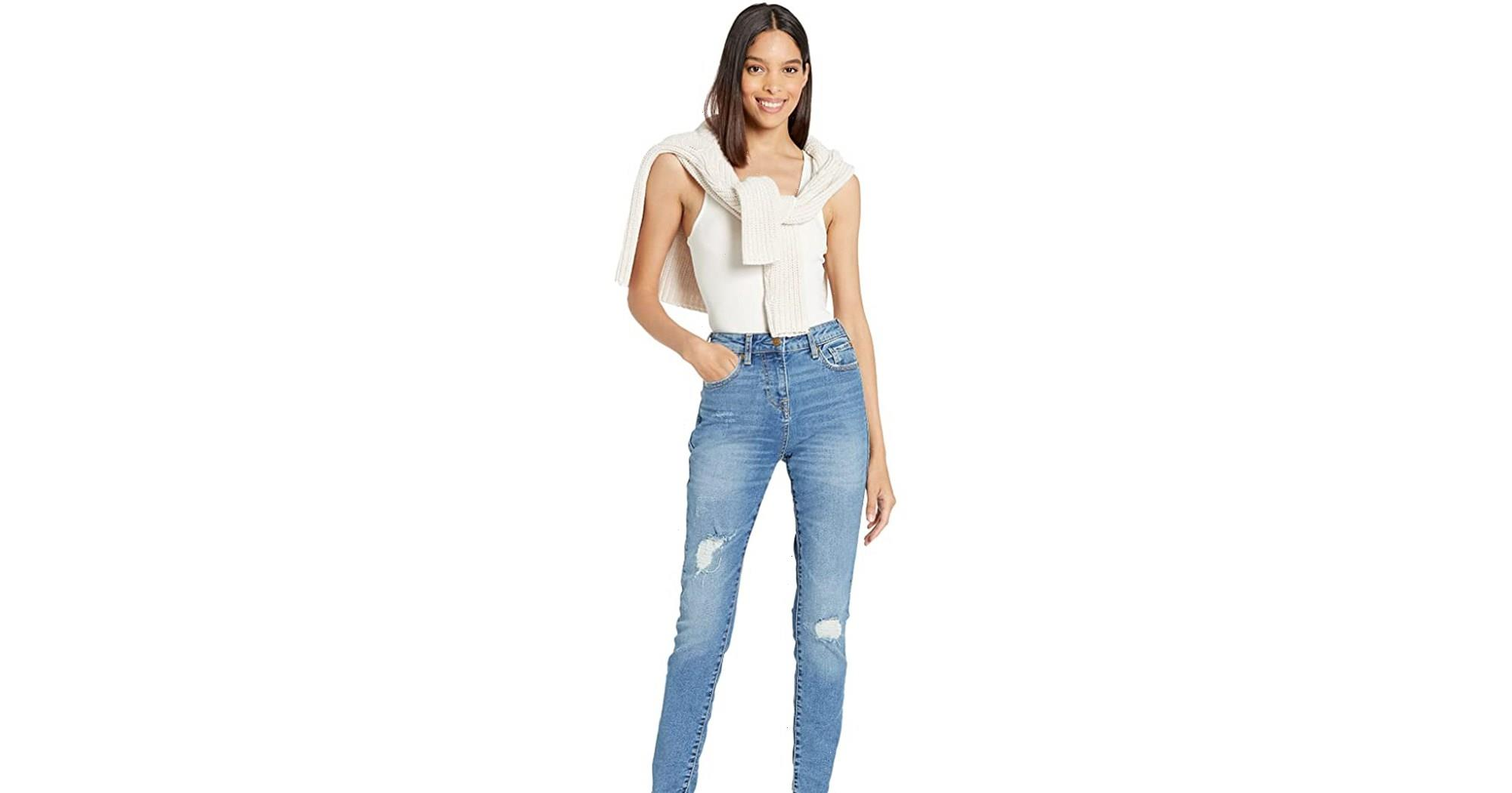 These High-Waisted Designer Jeans Are on Sale for 40% Off — Shop Now!