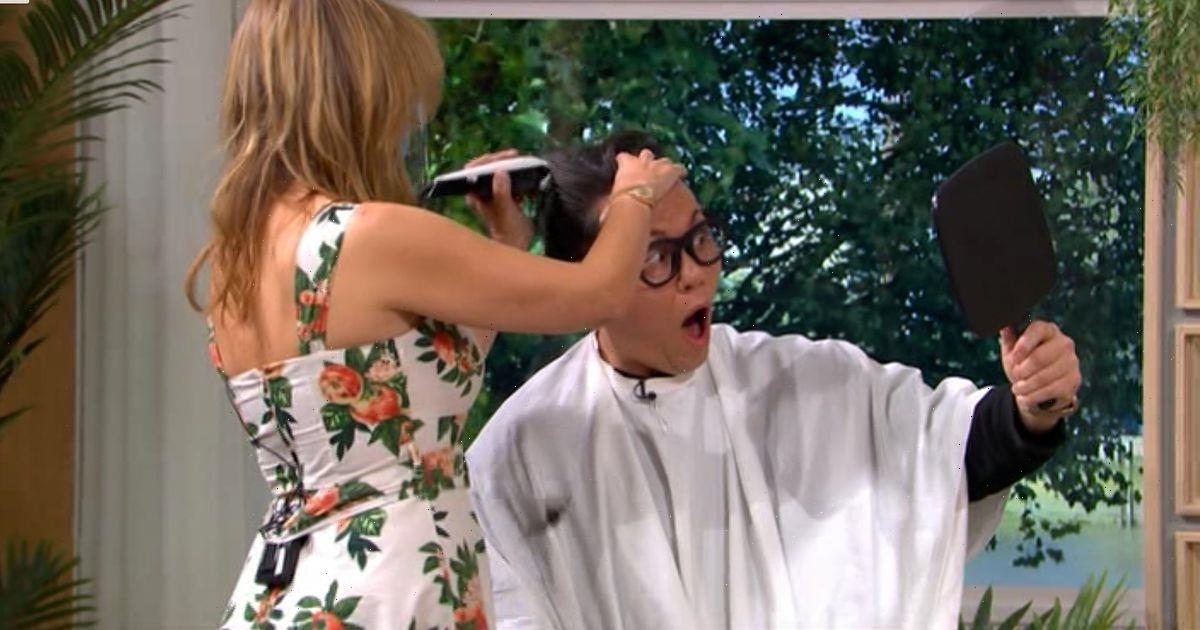 This Morning fans praise Gok Wan for shaving his head for cancer charity