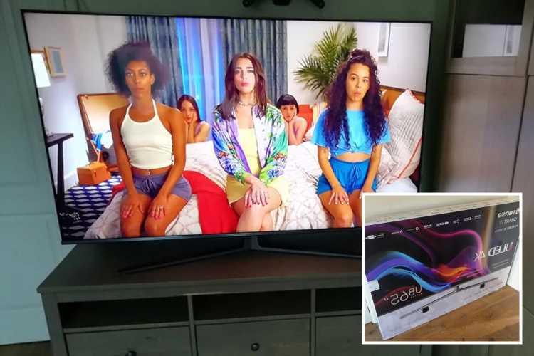 Thrifty shopper reveals how she got £1,700 TV for free
