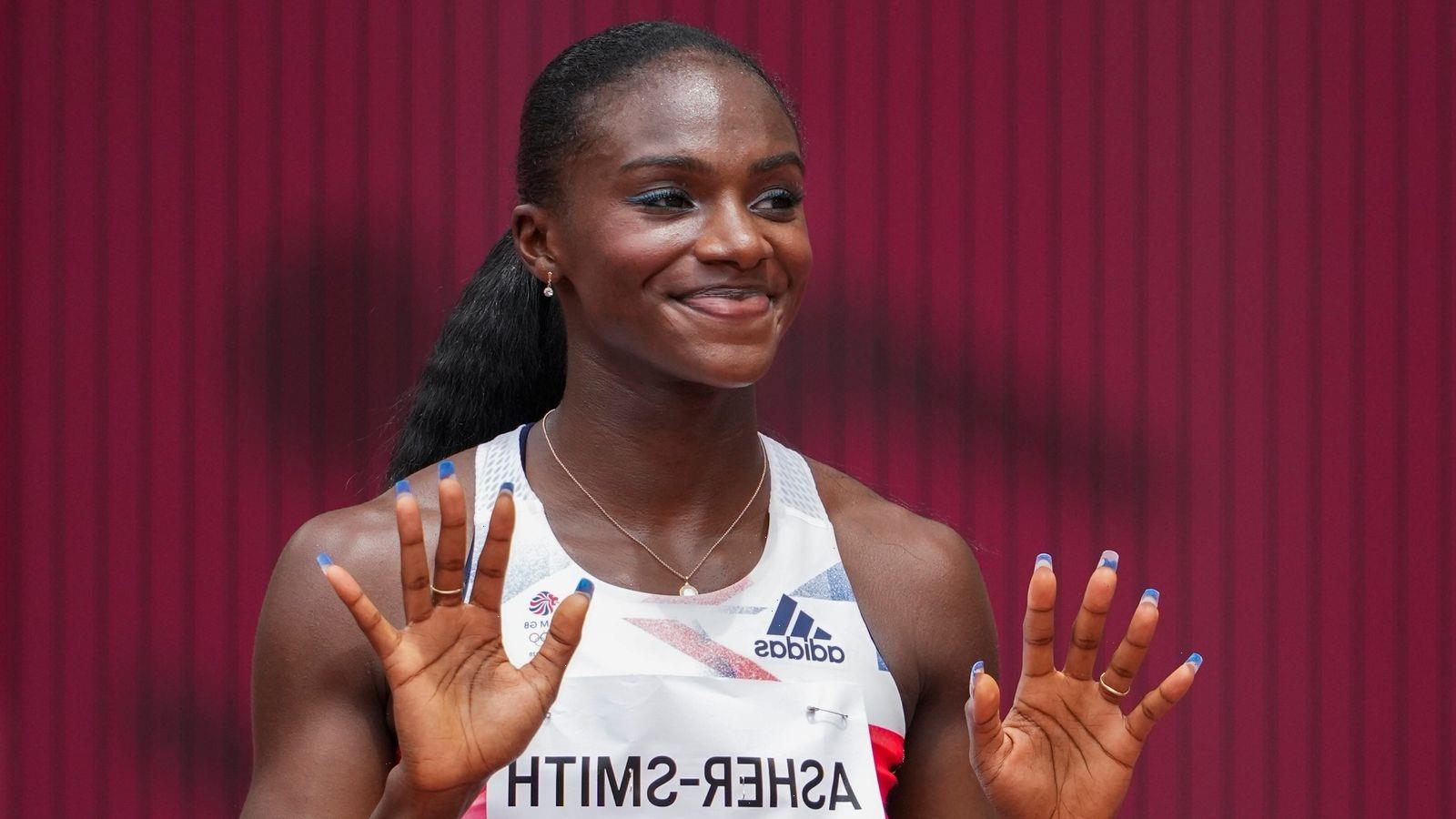 Tokyo 2020 Olympics: Dina Asher-Smith safely into 100m semi-final