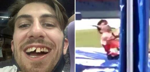 Tokyo 2020: Watch Team GB pole vaulter Harry Coppell smashe two front teeth in training and need emergency treatment