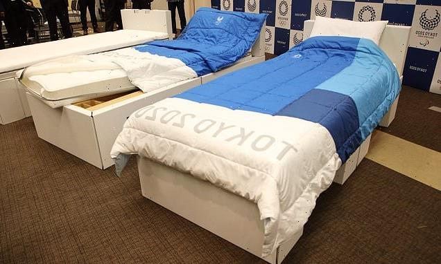 Tokyo Olympic cardboard 'anti-sex' beds ARE sturdy enough for intimacy