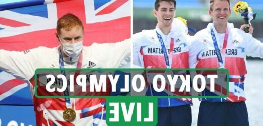 Tokyo Olympics 2020 Day 5 LIVE RESULTS: Tom Dean adds second GOLD as GB win relay, Simone Biles latest, rowing SILVER