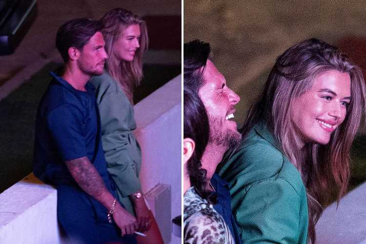 Tom Zanetti is dating Love Island's Arabella Chi as they're spotted cuddling up at romantic dinner in Ibiza