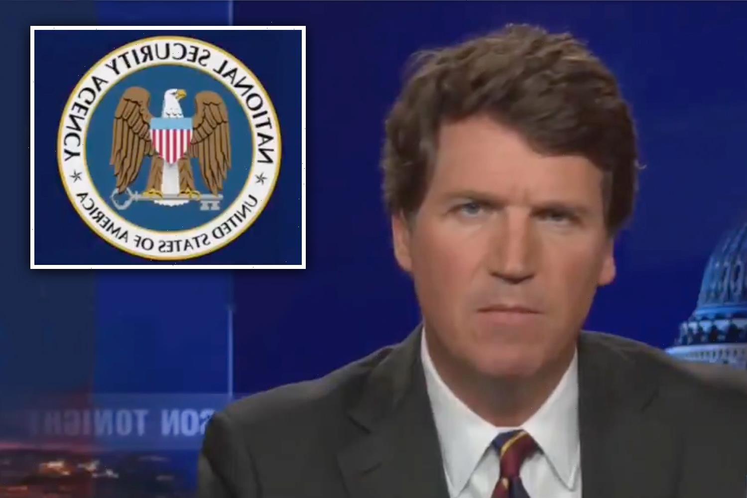 Tucker Carlson insists NSA has NOT denied reading his emails after agency admits it can target Americans 'in emergency'