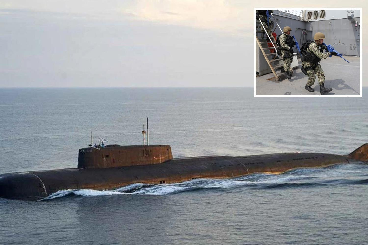 WW3 fears as Russian nuclear submarines spotted in Baltic Sea as US assault ship seen in Black Sea