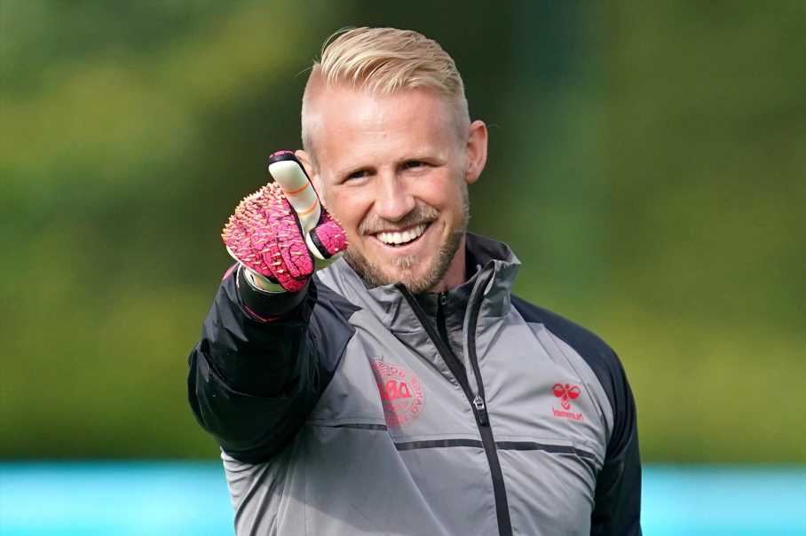 Watch Denmark star Kasper Schmeichel give brutal reply after being asked if 'it's coming home' for England at Euro 2020