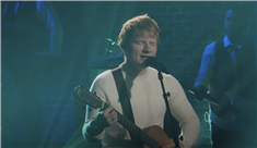 Watch Ed Sheeran Revisit 'Thinking Out Loud' on 'Corden'
