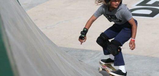 Watch teenage skater Sky Brown fly through the air and youll want to do it too