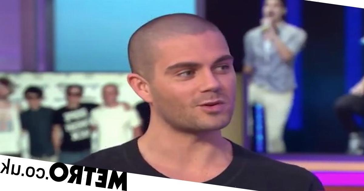 When was Max George in The Wanted and who is his girlfriend?